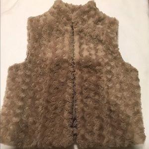Elle women's dressy vest jacket size small
